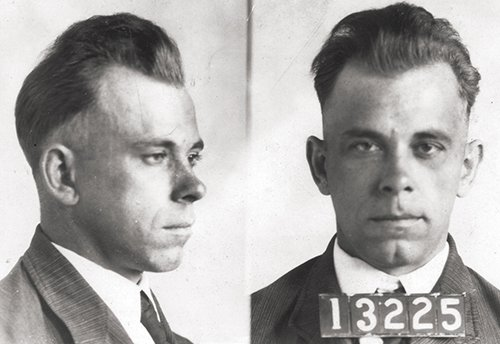 Public Enemy: John Dillinger mugshot