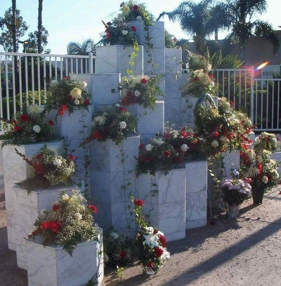 Memorial to the victims of the  McDonald's massacre at the former site of the restaurant in San Ysidro, California