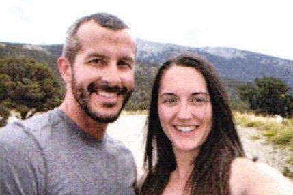 Chris Watts with his girlfriend, Nikki Kessinger.  Photo taken before the Watts family murders.