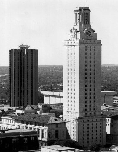 The University of Texas at Austin Tower, Austin, Texas.
