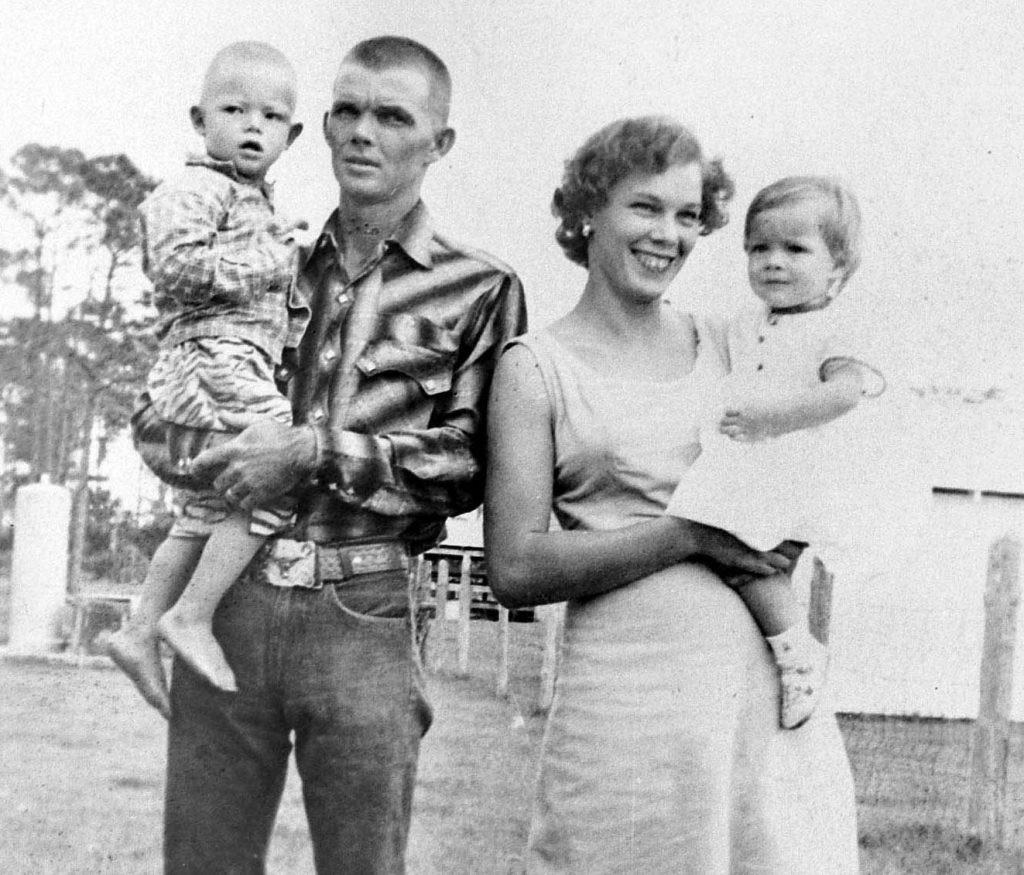 An undated photo of the Walker family (In Colder Blood)