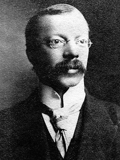 A well-known photograph of Dr. Crippen