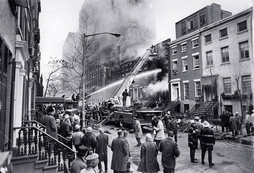 FDNY works to extinguish the blaze at 18 West 11th
