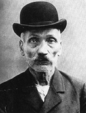 Wilhelm Voigt, the Captain of Köpenick, 1906 mugshot
