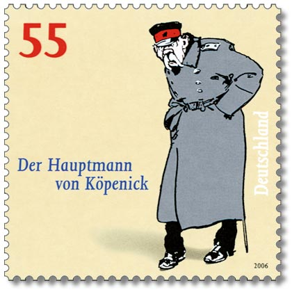 German postage stamp, 2006