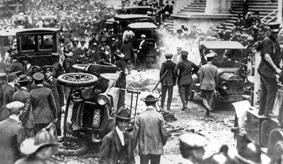 Ten bombings - The aftermath of the Wall Street Bombing