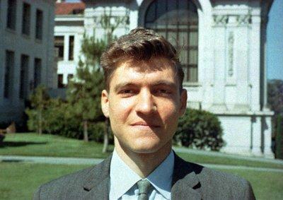 Ten bombings - Unabomber Ted Kaczynski at U.C. Berkeley in 1967.
