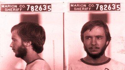 Mugshot of Speedway bomber Brett Kimberlin