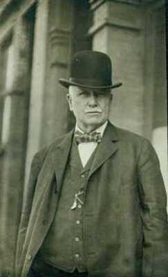 "St. Paul police chief John O'Connor ca. 1912. Dan Hogan was O'Connor's ""ambassador"" to visiting criminals"