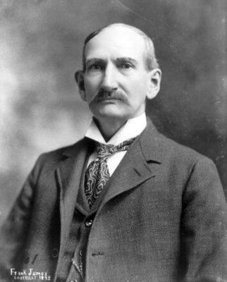 Frank James in his later years