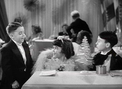 "George ""Spakny"" McFarland, Darla Hood, and Carl Switzer as ""Alfalfa"" in Our Gang Follies of 1938"