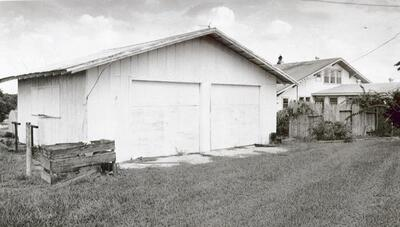 George Trepal's garage. Inside, investigators found thallium that the jury decided he used to poison Peggy Carr.
