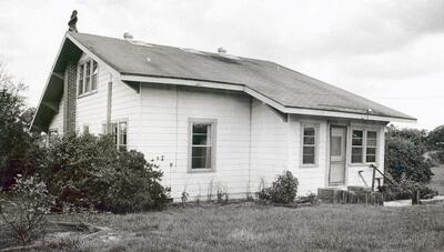 The George Trepal house at the time of Peggy Carr's murder
