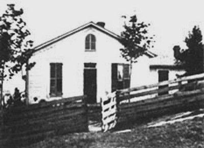 Jesse James's home at 1318 Lafayette Street, St. Joseph, Missouri