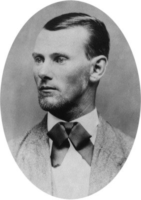 A later studio portrait of Jesse James (Library of Congress)