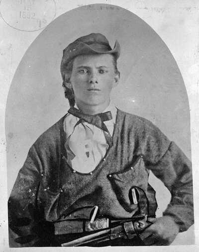A young Jesse James in 1864 (Library of Congress)