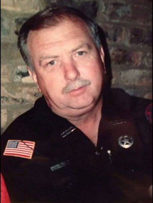 Photo of Darrell Lunsford in uniform