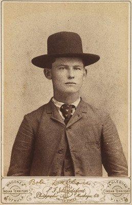 "Robert ""Bob"" Dalton ca. 1889 (National Portrait Gallery, Smithsonian Institution"