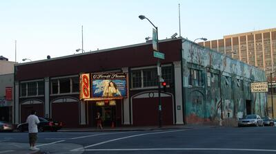 A recent photo of the Mitchell Brothers O'Farrell Theater