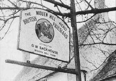 Graham Backhouse inherited Widden Hill Farm from his father in 1979