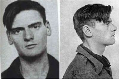 Peter Griffiths' mugshot. He confessed to murdering June Devaney shortly after police took this photograph.