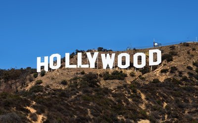 The Hollywood sign in 2015 (Thomas Wolf)