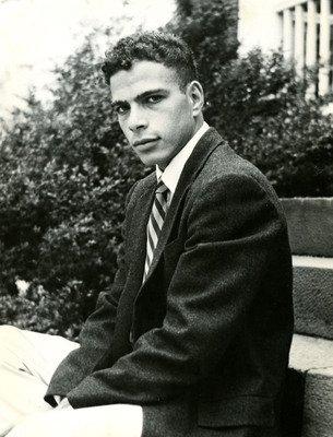 Felix Polk as a young man