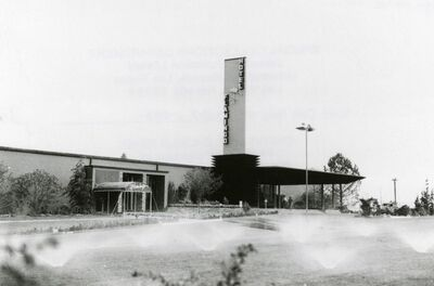 The Flamingo didn't look so glamorous when it opened on December 28, 1948.