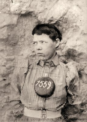 Pearl Hart in the Yuma Territorial Prison