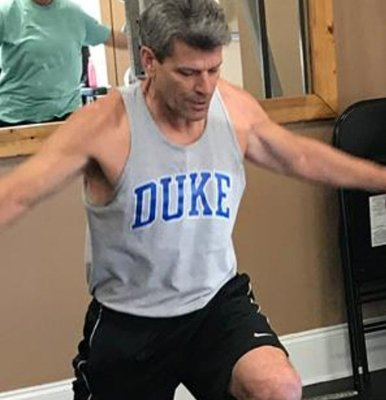 Mark Putnam is now a personal trainer