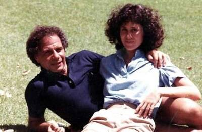 Dr. Felix and Susan Polk in happier times
