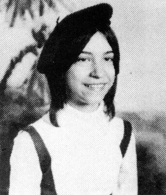 Susan Smith in 7th grade, the last year she attended school
