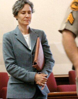 Susan Polk at her murder trial