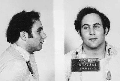 David Berkowitz's mugshot