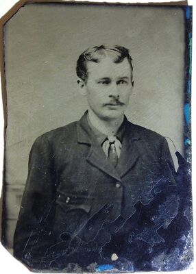 """William Floyd """"Billy"""" Claiborne was part of Ike Clanton's """"cowboy"""" faction . He ran away from the infamous O,K. Corral gunfight because he was unarmed. His luck ran out a year later when he picked a fight with Frank Leslie.. He was only 22"""