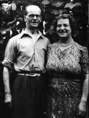 John Reginald Christie and his wife Ethel