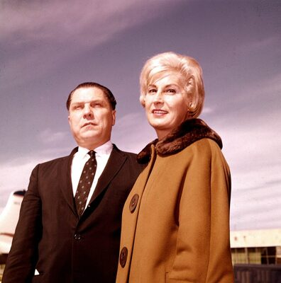 Mandatory Credit: Photo by AP/REX/Shutterstock (7347466a) HOFFA James R. Hoffa and his wife Josephine pose in this Jan. 29, 1961 photo, location unknown. Nearly 28 years after ex-Teamsters boss Jimmy Hoffa disappeared, law enforcement officials dug into the ground outside a home in Hampton Township, Mich., to search for evidence, a prosecutor said. Hoffa, father of current Teamsters President James P. Hoffa, disappeared from the parking lot of the Machus Red Fox restaurant in Oakland County's Bloomfield Township in July 1975 HOFFA INVESTIGATION