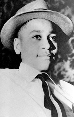 Mamie Till Bradley took this iconic photo of Emmett Till at Chrsitmas 1954 when Emmett was 13