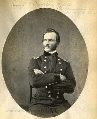 James Henry Carleton conducted the first federal investigation of the Mountain Meadows Massacre