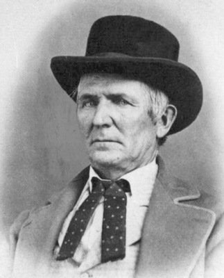 John D. Lee, the only person convicted of the Mountain Meadows Massacre