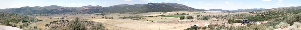 Panoramic view of the Mountain Meadows in 2009 (Phil Konstantin)