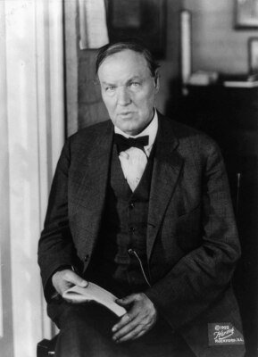 Defense attorney Clarence Darrow