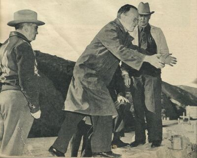Eggers demonstrates how he dumped Dorothy's body